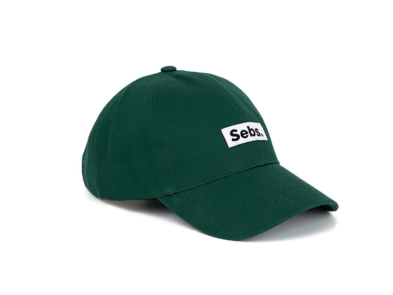 Sebs. COTTON_GREEN BALL CAP