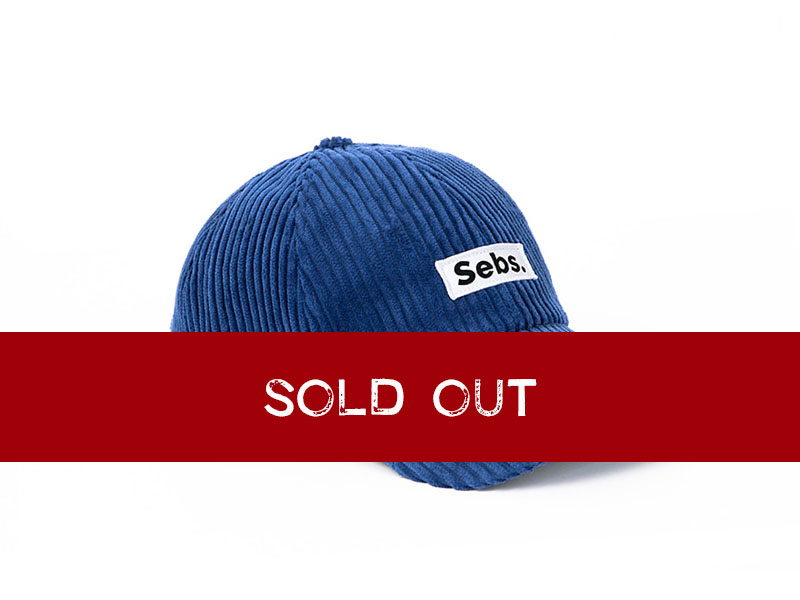 Sebs. CORDUROY_BLUE BALL CAP