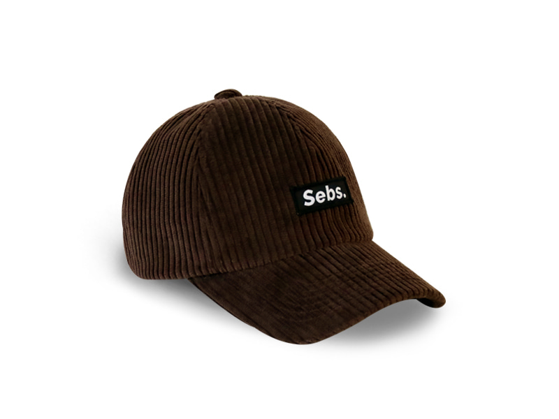 [셉스] Sebs. CORDUROY_BROWN BALL CAP