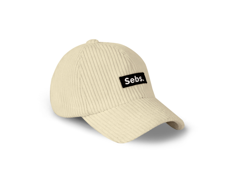 Sebs. CORDUROY_DIRTY BALL CAP